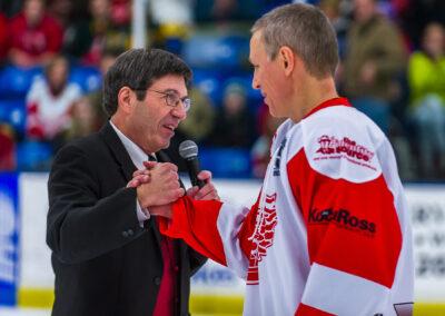 Jim Alban and Igor Larionov