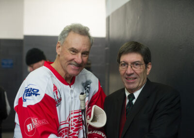 Mickey Redmond and Jim Alban
